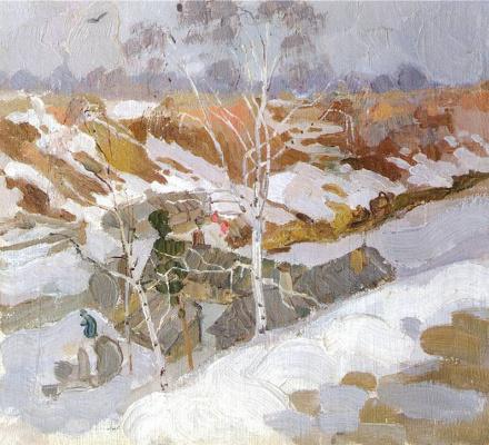 Николай Иванович Фешин. Ранняя весна