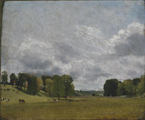 John Constable. View Epsom, England