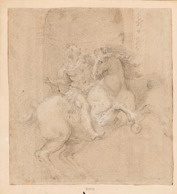 Gian Lorenzo Bernini. The Emperor Constantine on horseback