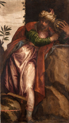 Paolo Veronese. Zoroaster Allegory of Astronomy with the Amillary Sphere