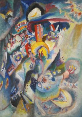 Wassily Kandinsky. Moscow II