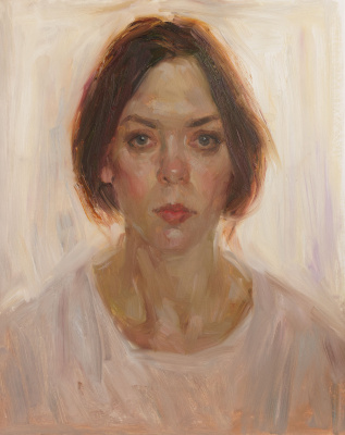 Ekaterina Blinova. Self-portrait