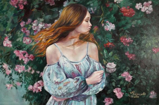 Татьяна Ивановна Устьянцева. В саду вечернем