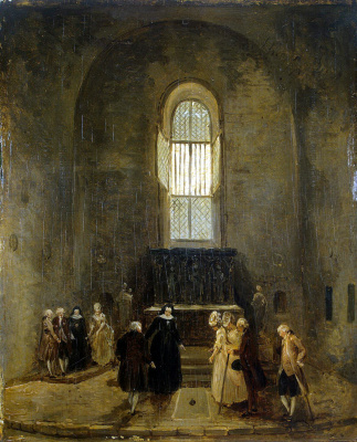 Hubert Robert. Inspection of the old Church