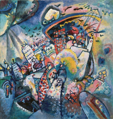 Wassily Kandinsky. Moscow. Red square