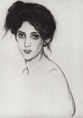 Valentin Aleksandrovich Serov. Portrait Of I. Y. Gruenberg