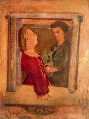 Марк Ротко. Две женщины у окна