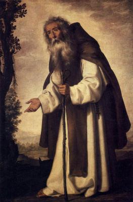 Francisco de Zurbaran. Anthony The Great