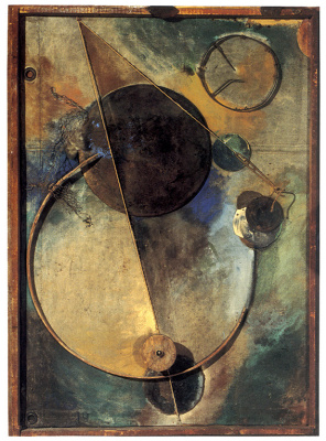 Kurt Schwitters. Rotation