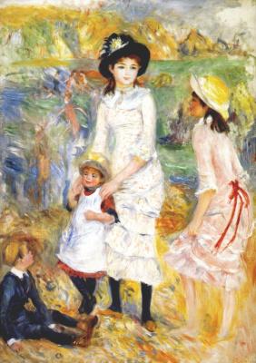 Пьер Огюст Ренуар. Дети на берегу моря