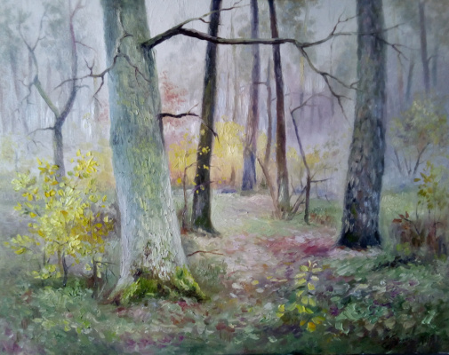 Bogdan Ermakov. Autumn oak