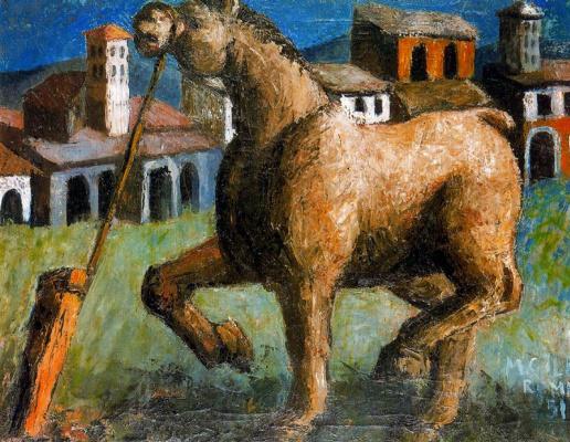 Мануэль Гиль. Лошадь