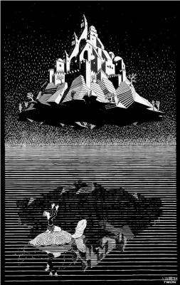 Мауриц Корнелис Эшер. Замок в воздухе