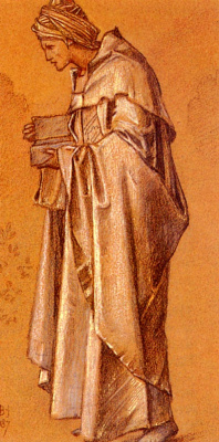 Edward Coley Burne-Jones. Melchior (Scene 1)