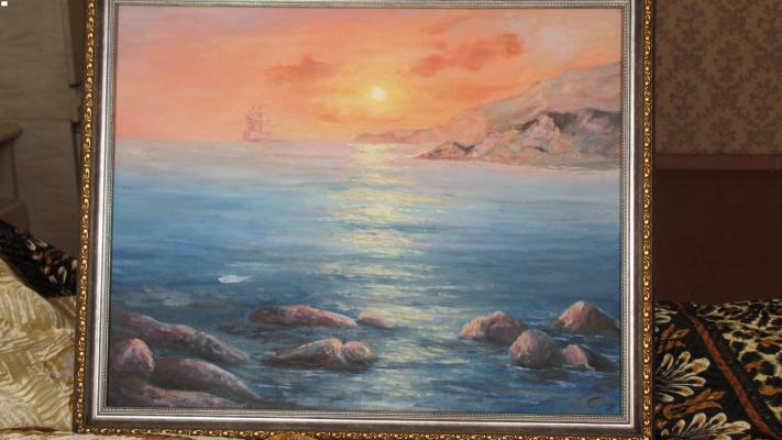 Светлана. Море