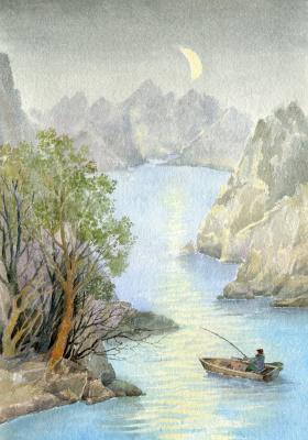 Smbat Arayevich Bagdasaryan. Fishing