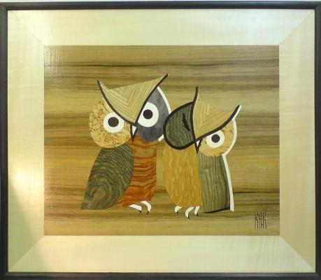 Constantine Krivoshein. Owls