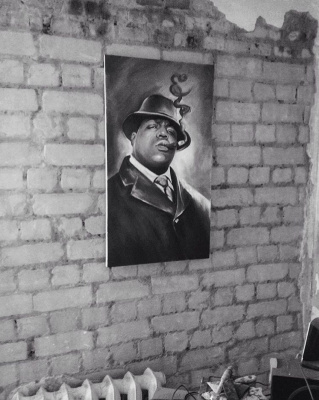 Anastasia Oraina. Notorious big Portrait to order