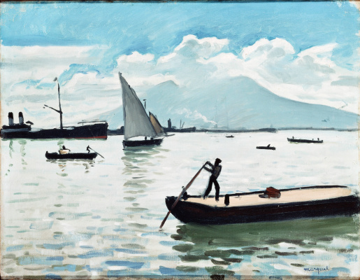 Albert Marquet. The Bay of Naples