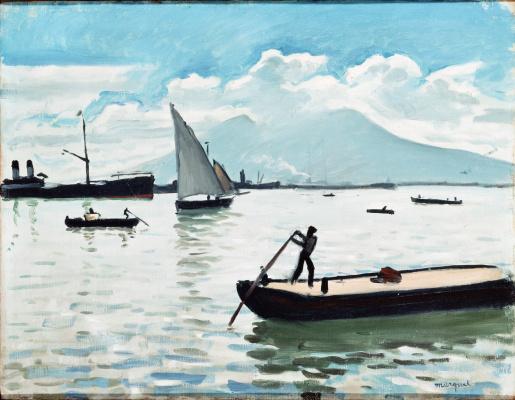 Albert Marquet. The Bay of Naples
