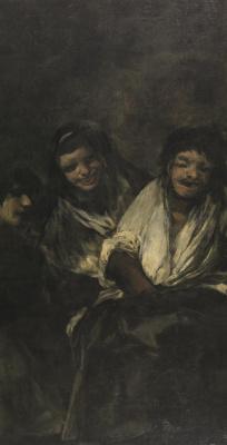 Франсиско Гойя. Две женщины и мужчина