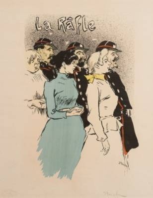 Theophile-Alexander Steinlen. The procession