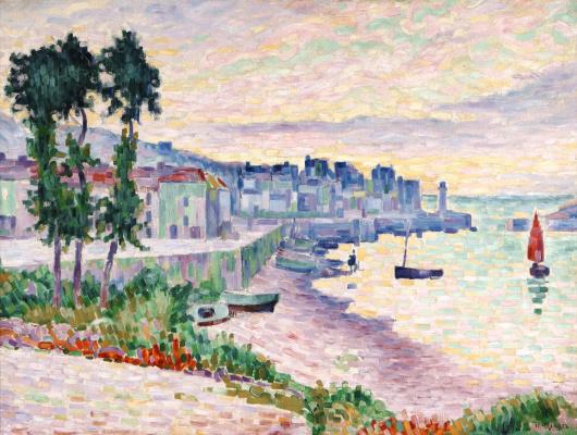 Jean Metzinger. The port in the morning (San Tropez)