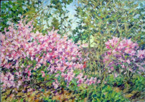 Urii Parchaikin. The flowering tree