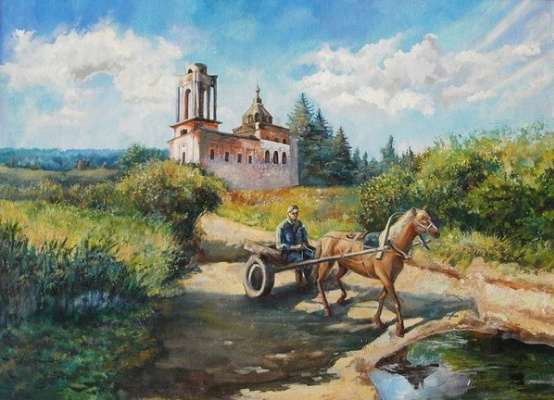 Ольга Акрилова. Passing by the old Church