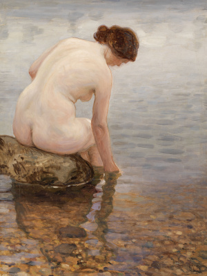 Nikolay Petrovich Bogdanov-Belsky. Bather