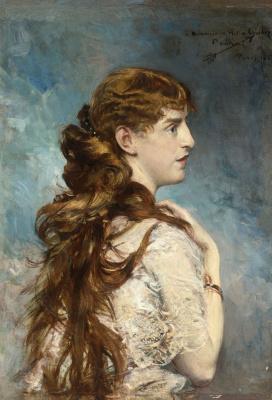 Giovanni Boldini. Harriet Valentine Alexander (Crocker)