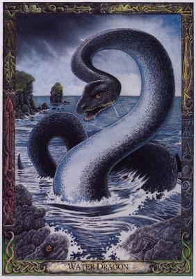 Билл Уортингтон. Водяной дракон