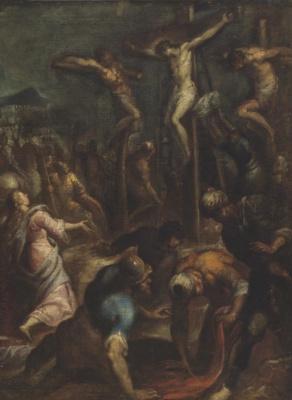 Jacopo Palma Junior. The crucifixion