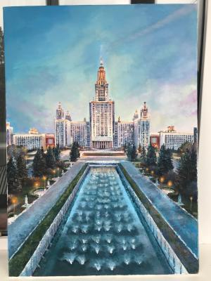 Anastasia Oraina. Moscow State University