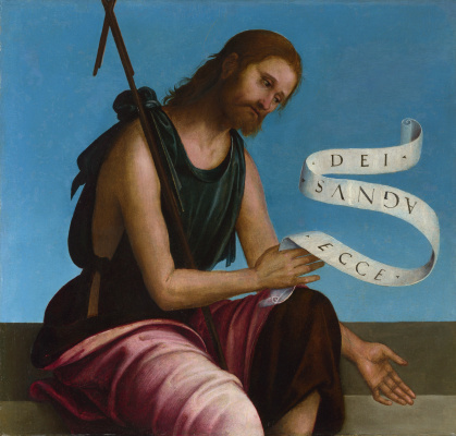 Lorenzo Costa. Saint John The Baptist