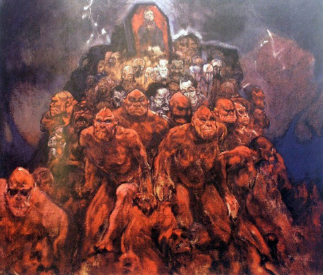Ivan Grigorievich Myasoedov. Crowd of demons