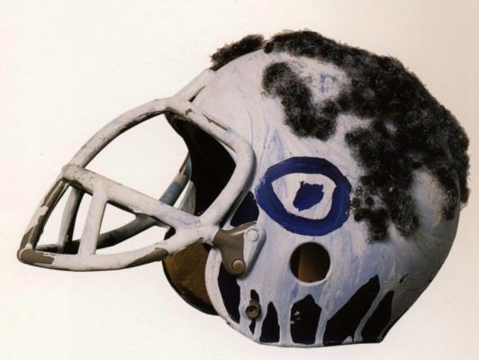 Jean-Michel Basquiat. Helmet I