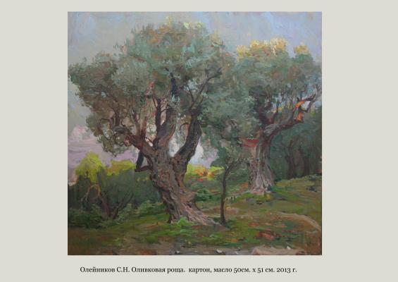 Сергей Николаевич Олейников. Оливковая роща