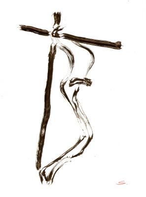 Nikolai Nikolayevich Sednin. The Crucifixion