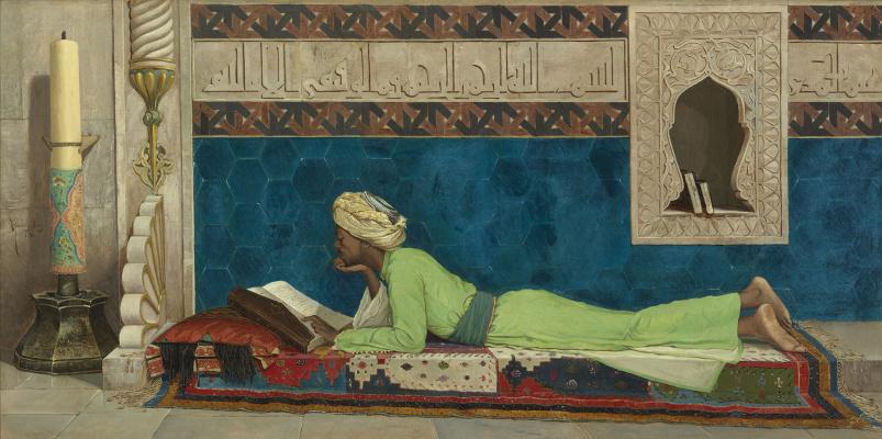 Осман Хамди Бей. Молодой эмир учится