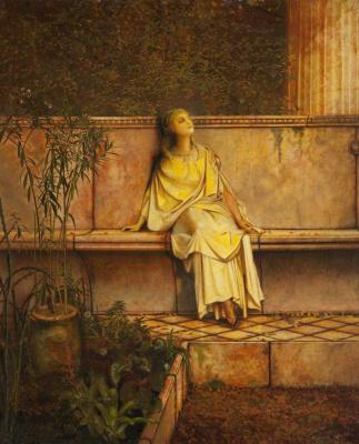 John Atkinson Grimshaw. Golden visions