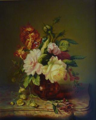 Stanislav Mikhailovich Kravchenko. Roses