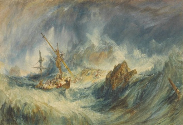 Joseph Mallord William Turner. Storm (Shipwreck)