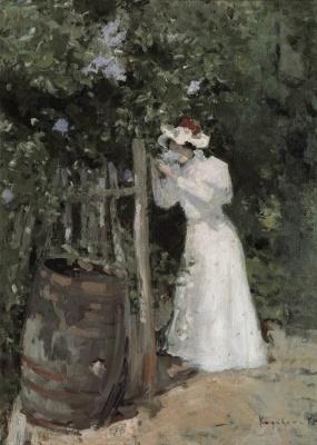 Konstantin Korovin. Summer. Lilac