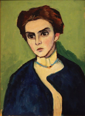 Gabriele Münter. Portrait Of Olga Hartmann