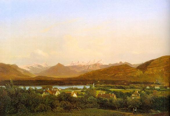 Александр Калам. Пейзаж