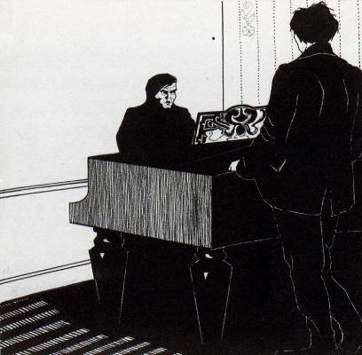 Умберто Боччони. У рояля