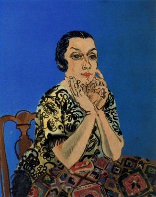 Raoul Dufy. Portrait of a woman
