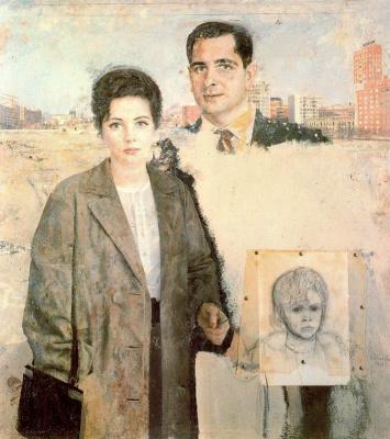 Антонио Лопес Гарсия. Семья