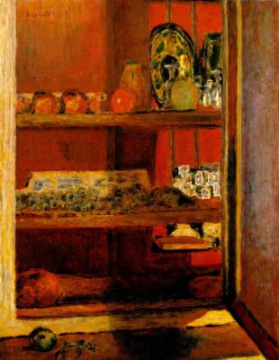 Пьер Боннар. Красный шкаф